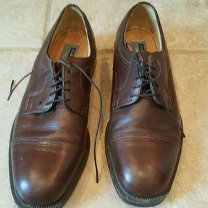 Florshine brown dress shoes